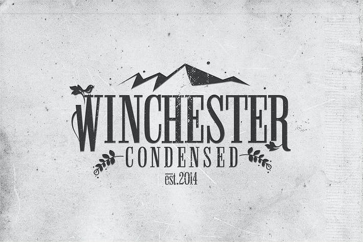 Thumbnail for Winchester Condensed Font