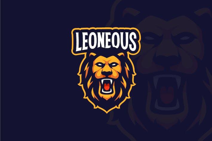 Lion Roar Mascot Logo