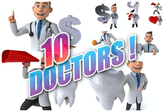 10 lustige Ärzte!