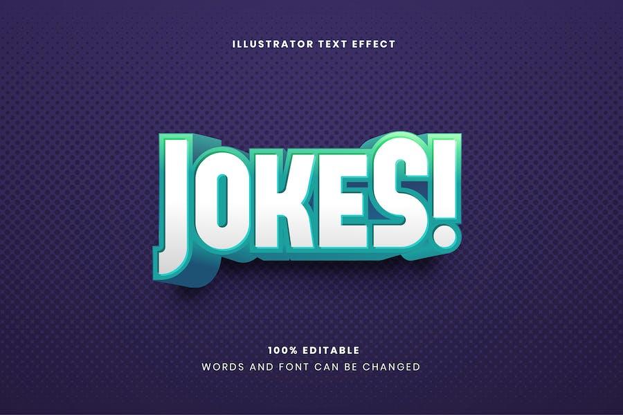 Bold Jokes Text Effect