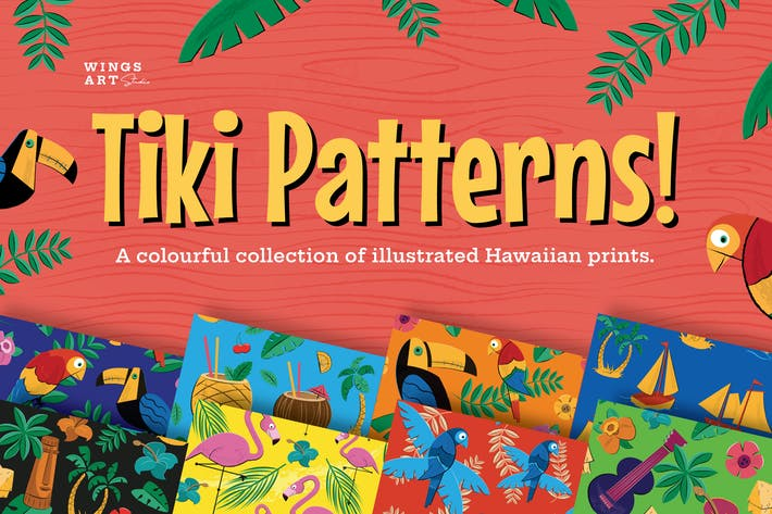 Thumbnail for Tiki and Hawaiian Patterns