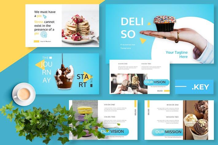 Thumbnail for Deliso Restaurant Keynote Presentation