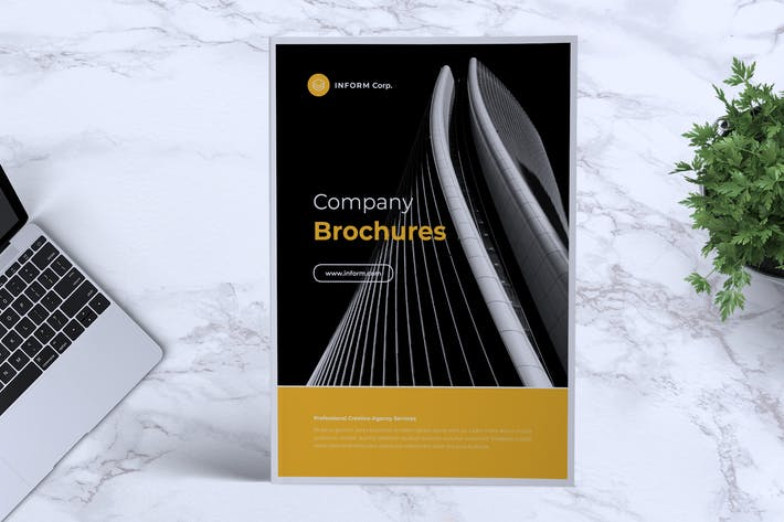 Cover Image For INFORM Company Profile Brochure