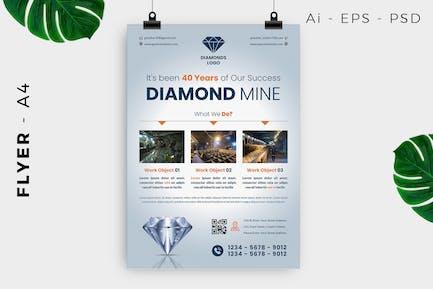 Diamond / Jewelry / Accessories Flyer Design