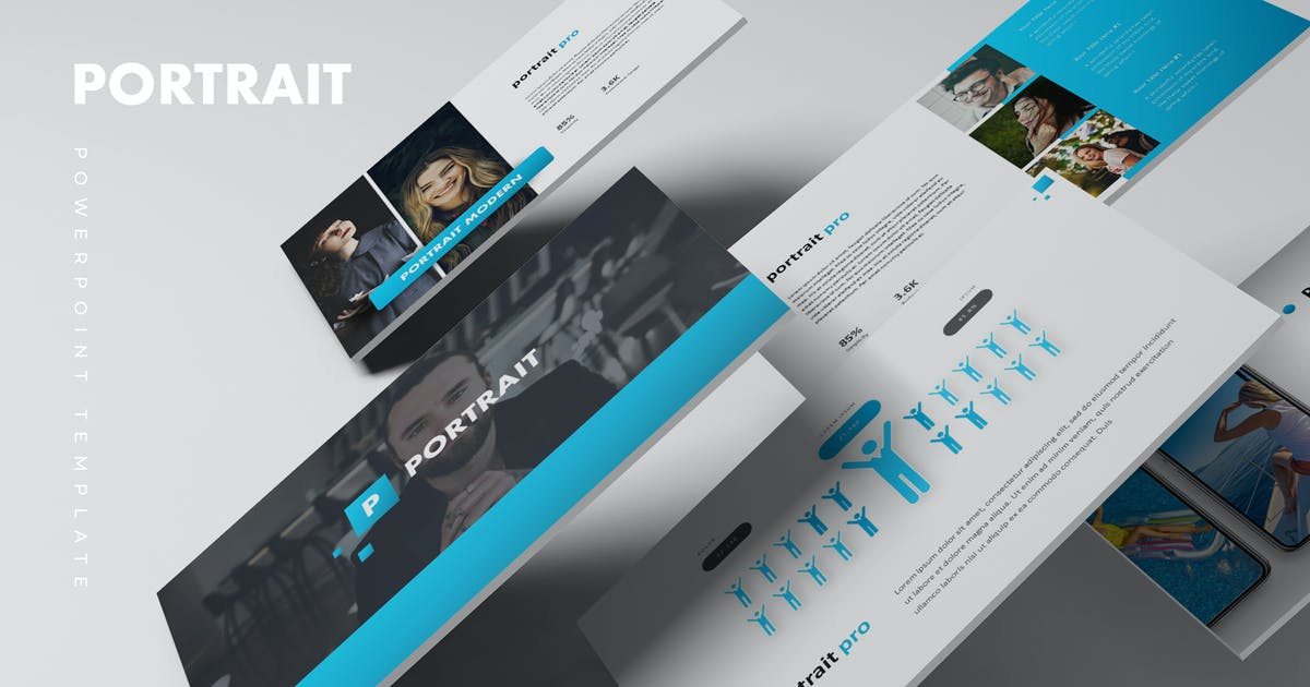 Download Portrait - Powerpoint Template by aqrstudio
