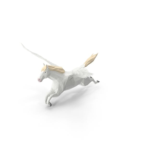 Cover Image for Low Poly Pegasus