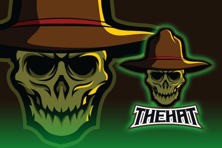 Thumbnail for Undead Skull Head Esport Logo