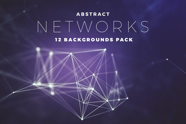 Abstract Network Backgrounds