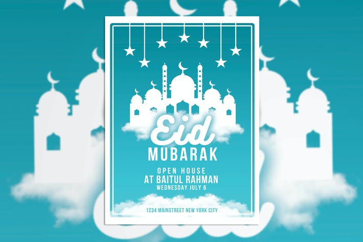 Thumbnail for Eid Mubarak Poster Flyer