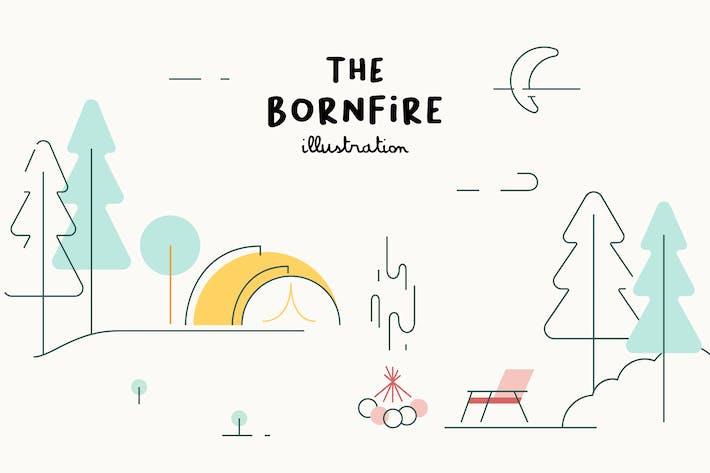 Thumbnail for ILLUSTRATION - The Bornfire