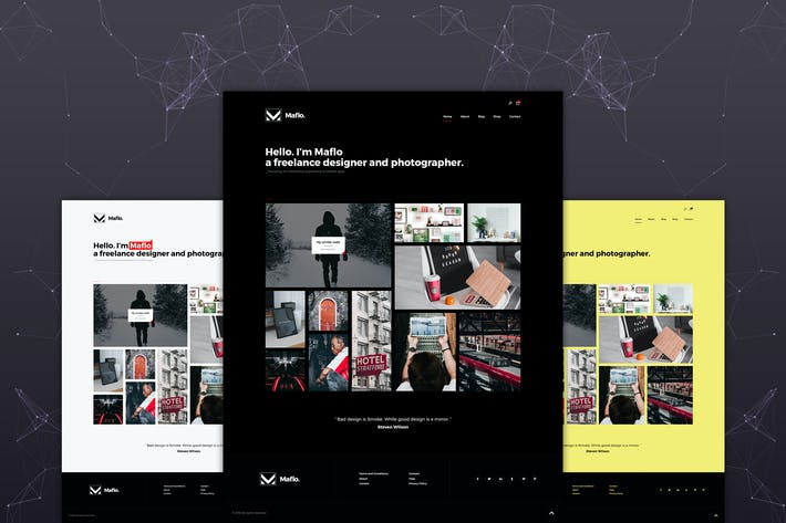 Thumbnail for Maflo - Portfolio HTML Template