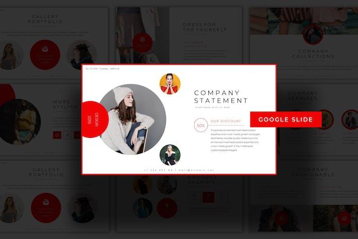 Thumbnail for Boutique -  Google Slides Template