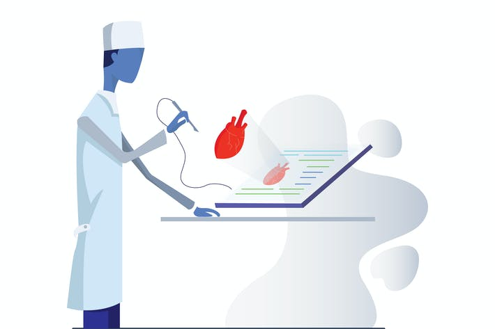 Thumbnail for AR Technology Research Medizinische Illustration