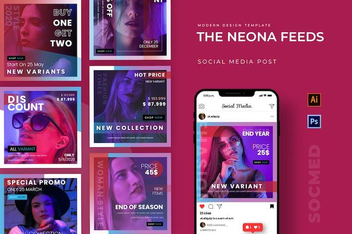 Thumbnail for Neona Feeds Instagram Beitrag