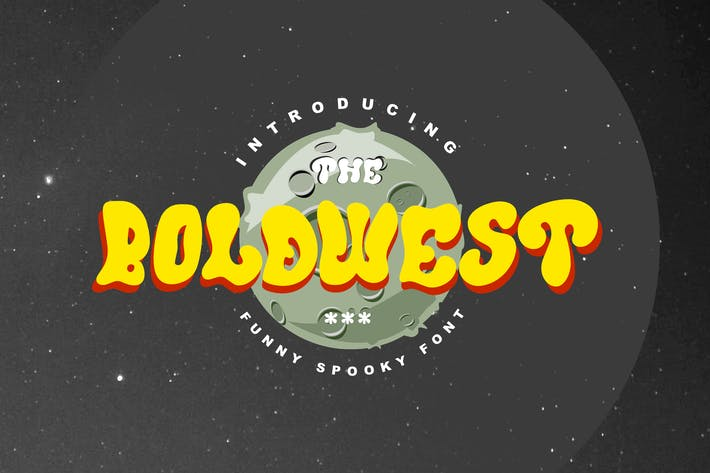 Thumbnail for Boldwest Font