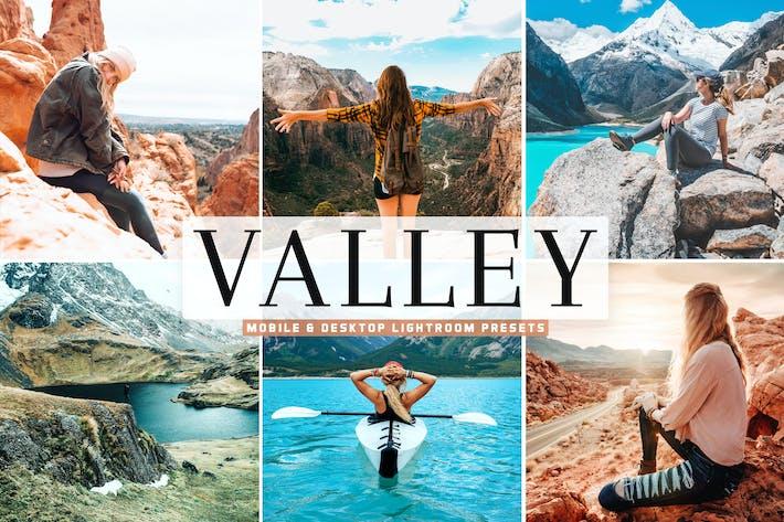 Thumbnail for Valley Mobile & Desktop Lightroom Presets