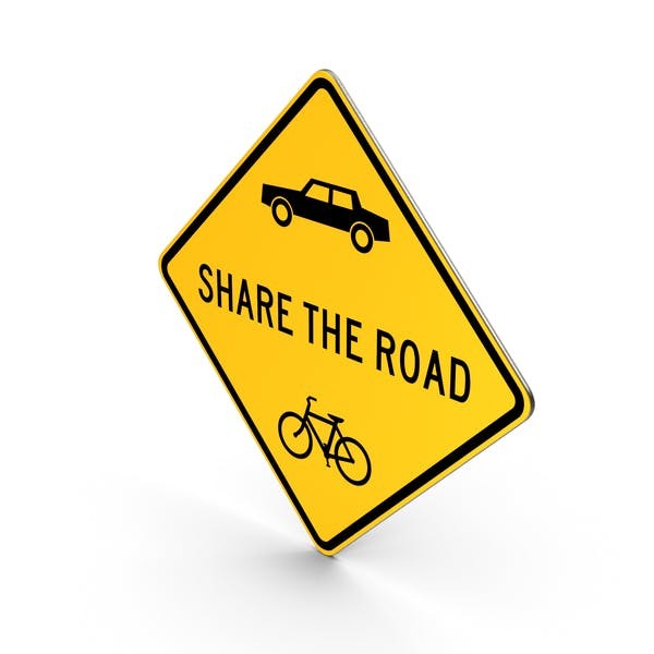 Share The Road Maryland Road Sign