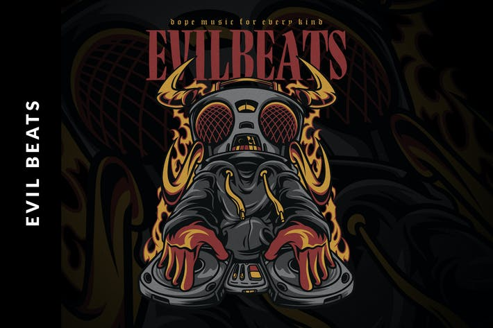 Thumbnail for Evil Beats Illustration