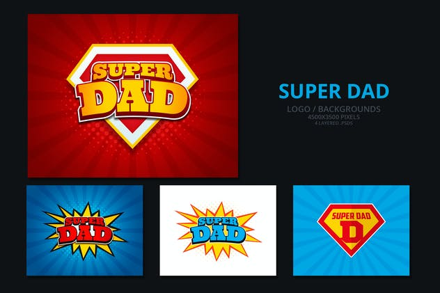 Super Dad/ Fathers Day