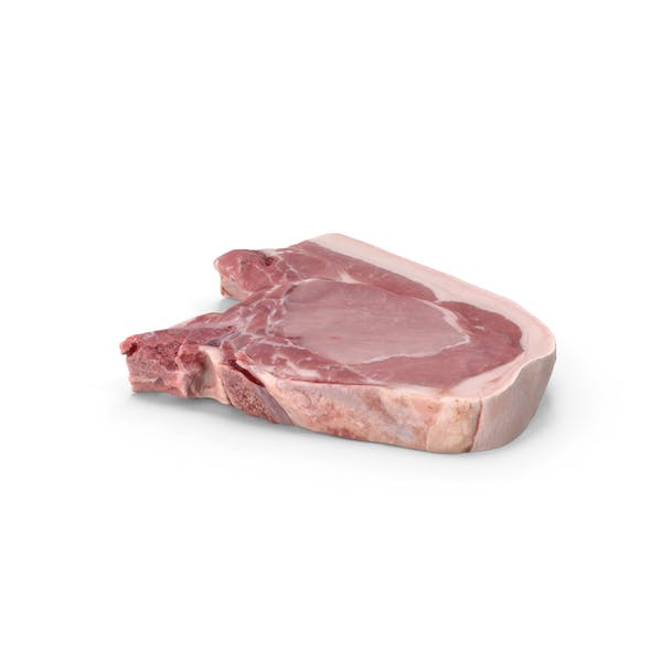 Pork Chop Raw