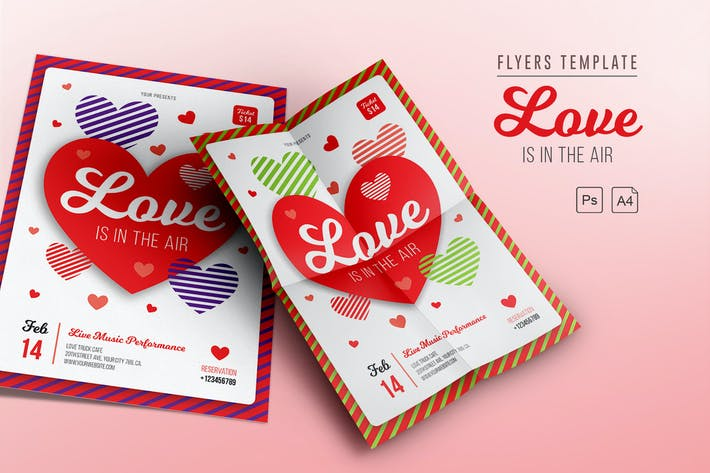 Thumbnail for Love is in the Air Flyers