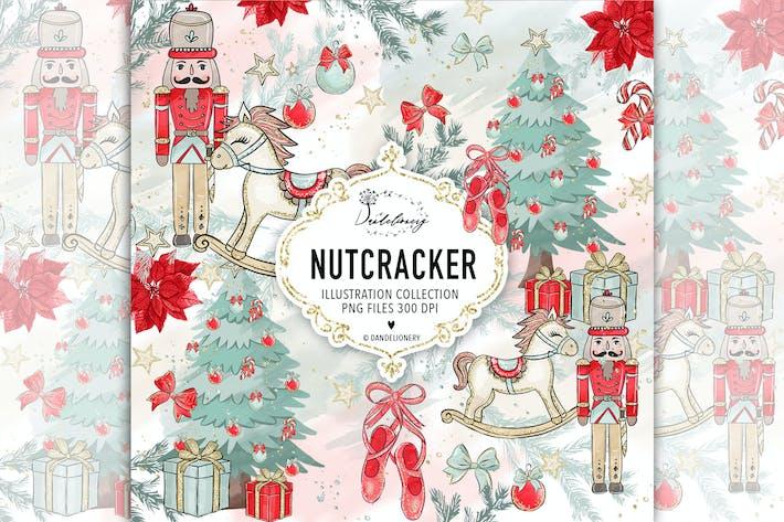 Thumbnail for Christmas Nutcracker design