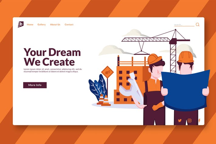Thumbnail for Construction - Landing Page GR