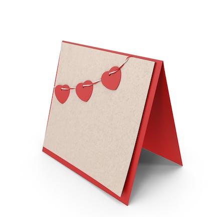 Открытка Святого Валентина