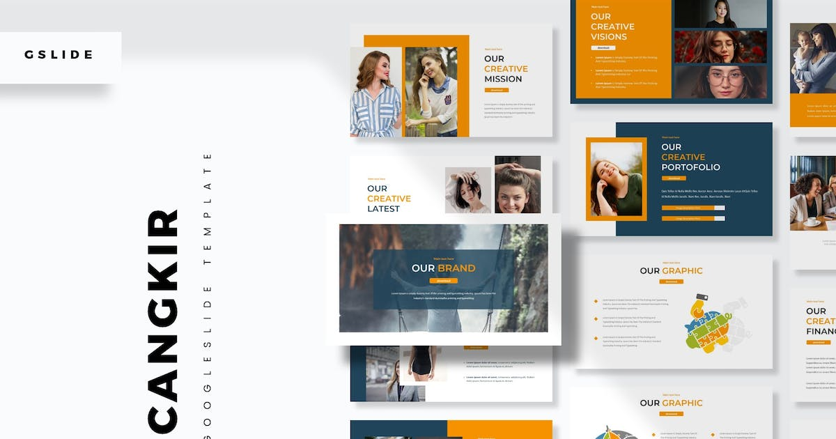 Download Cangkir - Google Slides Template by aqrstudio