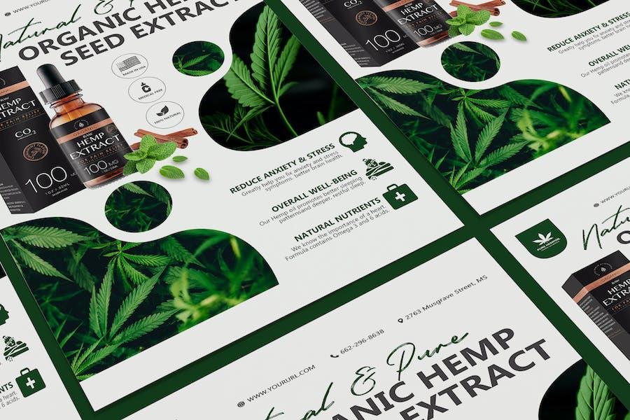 Hemp Product Poster