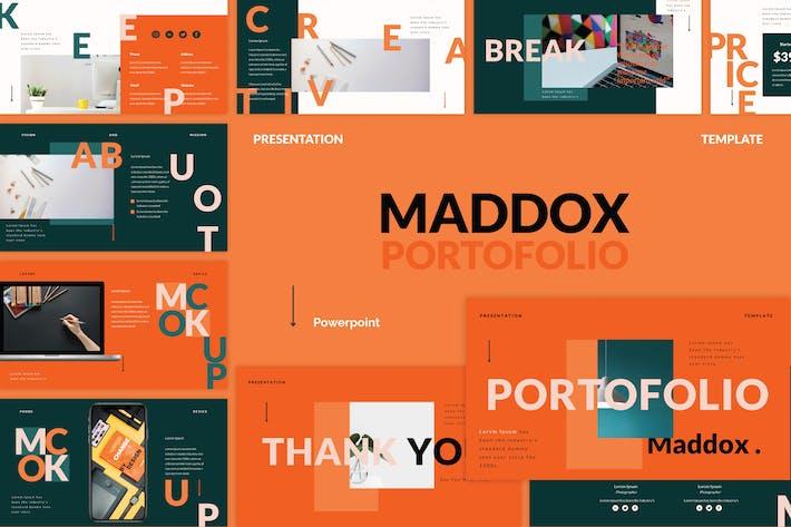 Creative Portfolio Powerpoint Template