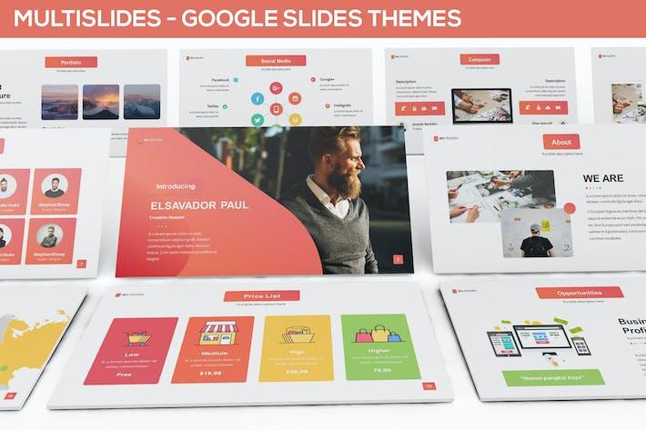 Thumbnail for MultiSlides - Multipurpose Google Slides Theme