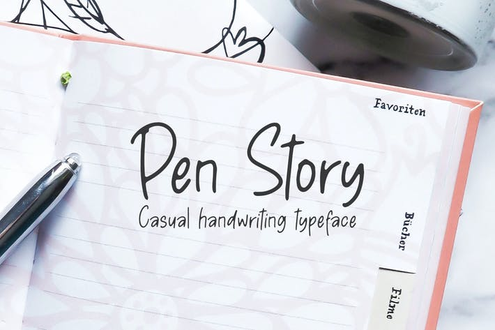 Thumbnail for Pen Story - Escritura a mano casual