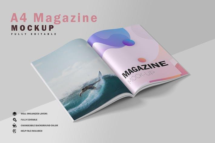 Thumbnail for Magazine Mockup V.5
