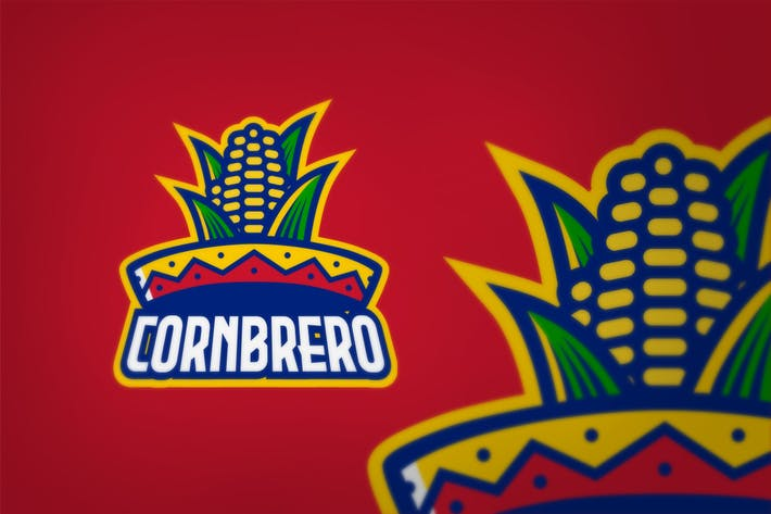 Thumbnail for Corn Sombrero Hat Logo Sport Style