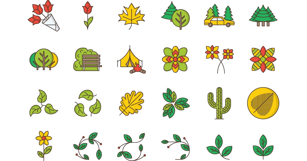 Download 35 Nature & Outdoors Icons by Unknow