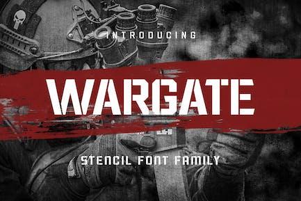 Wargate - Семейство трафаретов