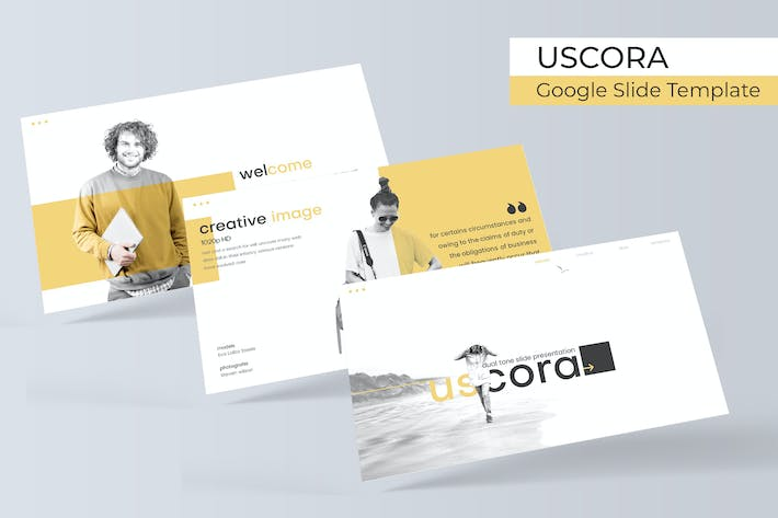 Thumbnail for Uscora - Google Slide Template