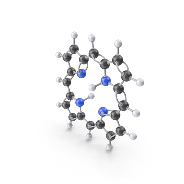 Cover Image for Porphin Molecule