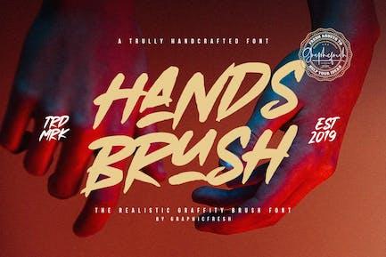 Cepillo de manos - Cepillo urbano fuerte