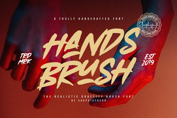 Thumbnail for Hands Brush - Strong Urban Brush