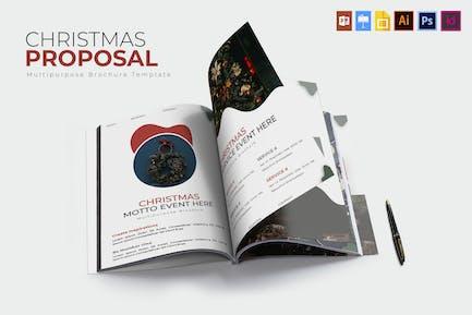 Chrismast Eve   Brochure Template