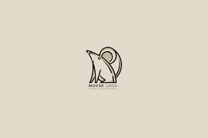 Cover Image For Mouse Logo Template