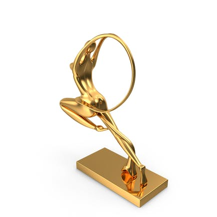 Statuette der Jungfrau Gold