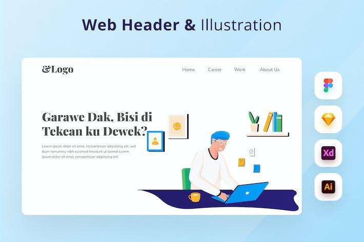 Thumbnail for Freelancer Work Web Header