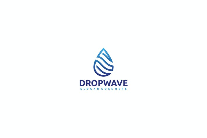 Thumbnail for Drop Wave Logo