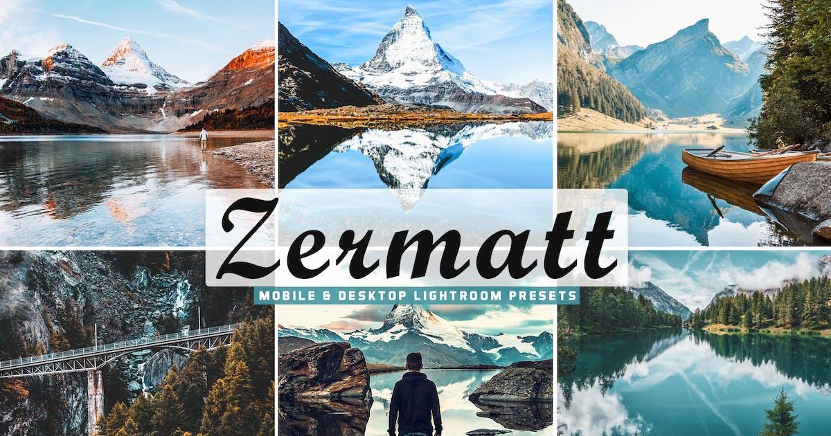 Download Zermatt Mobile & Desktop Lightroom Presets by creativetacos