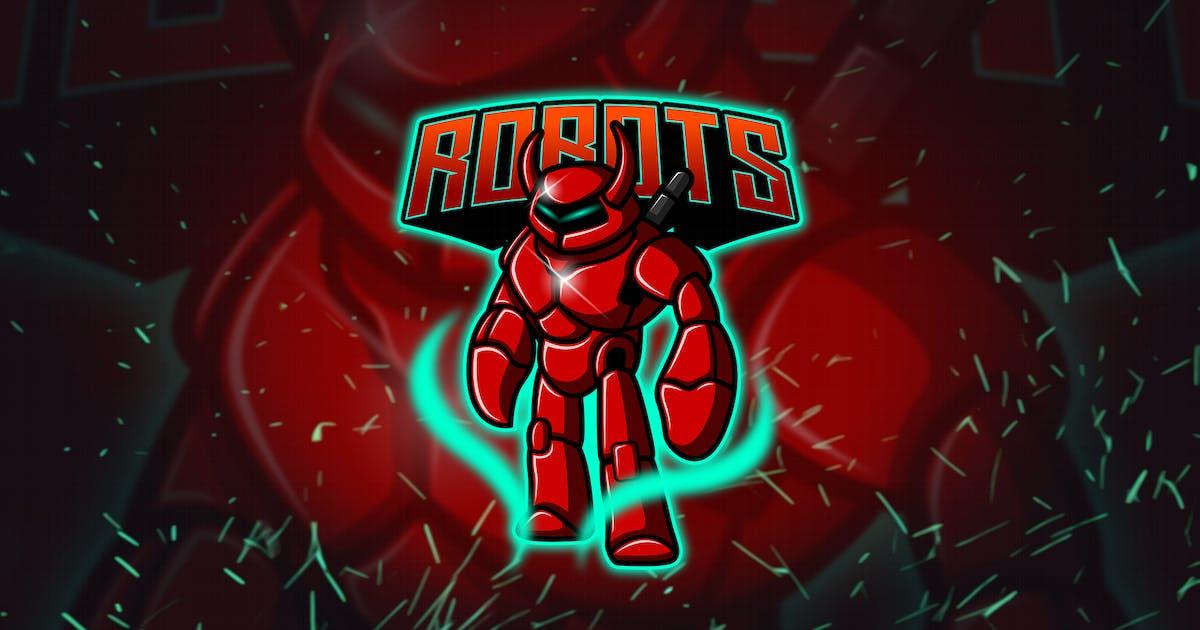 Download Robot - Esport & Mascot Logo YR by Rometheme