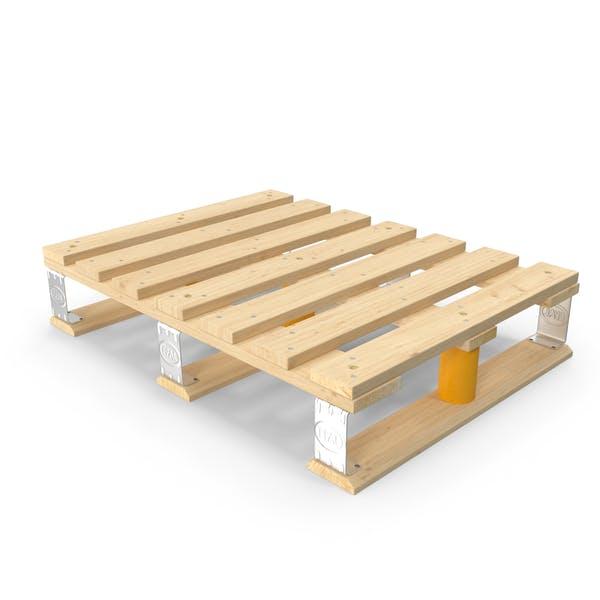 Wooden EPAL Euro Half Pallet