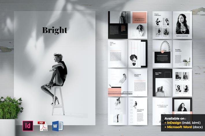 Thumbnail for BRIGHT Fashion Lookbook Portfolio Brochures